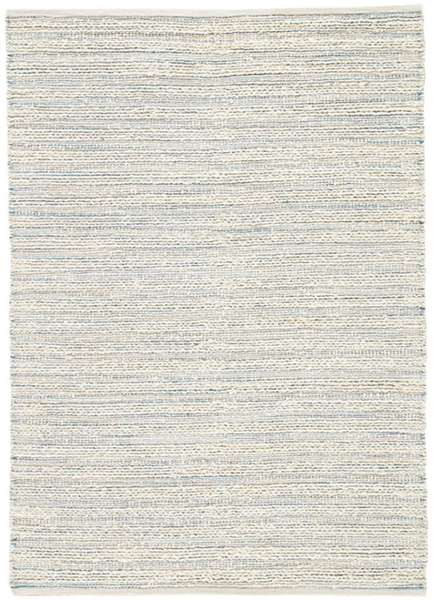9' x 12' Ivory and Rhino Gray Contemporary Handwoven Rectangular Area Throw Rug - IMAGE 1