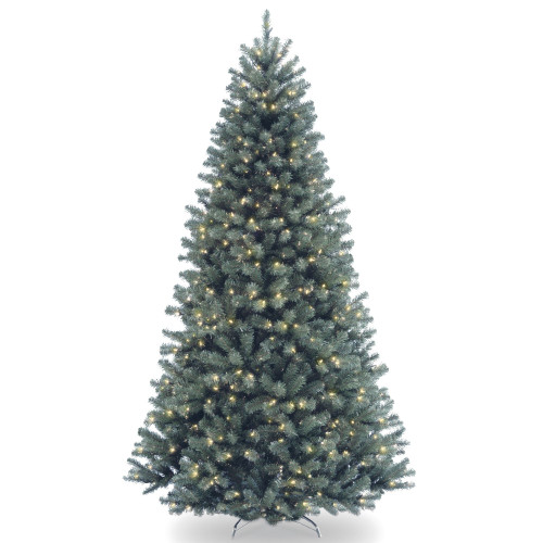 6.5' Pre-Lit North Valley Spruce Artificial Christmas Tree - Clear Lights - IMAGE 1