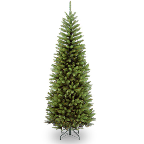 6.5' Kingswood Fir Pencil Artificial Christmas Tree – Unlit - IMAGE 1