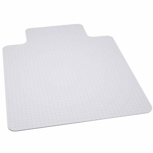 45'' x 53'' Clear Carpet Gripper Carpet Chair Mat with Lip - IMAGE 1