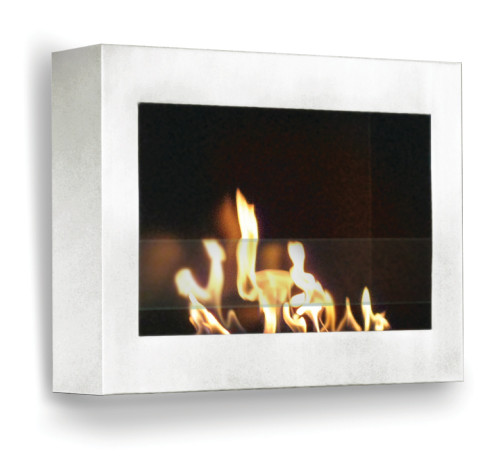 Anywhere Fireplace Indoor Wall Mount Fireplace - SoHo (White-High Gloss) Model - IMAGE 1