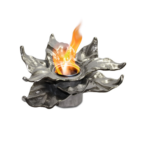 Anywhere Fireplace Indoor/Outdoor Fireplace - Heathcote (Silver) - IMAGE 1