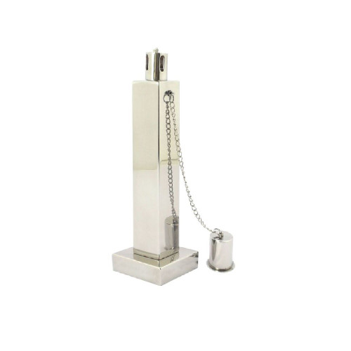 Anywhere Torch TableTop Polished Stainless Rectangle(1pc) - IMAGE 1