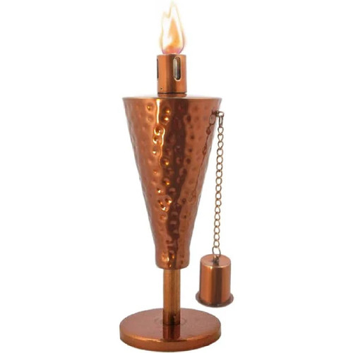 Anywhere Torch TableTop-Hammered Copper Cone (1 pc) - IMAGE 1