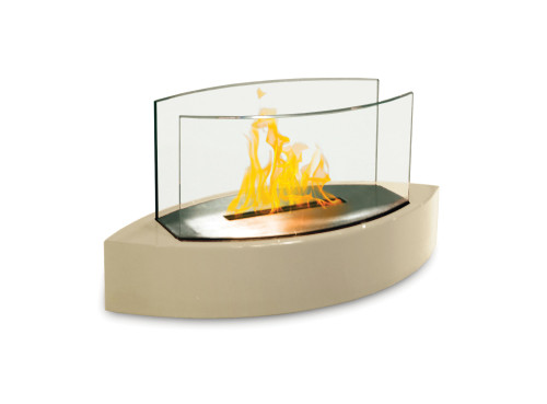 Anywhere Fireplace Tabletop Fireplace-Lexington Model Beige - IMAGE 1