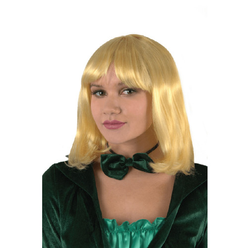 Blonde Pageboy Halloween Wig Costume Accessory- One Size Fits Most - IMAGE 1
