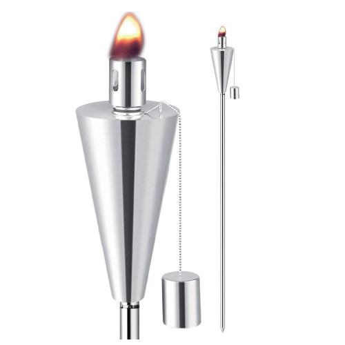 """Anywhere Garden Torch Outdoor Garden Torch -Cone Shape (2 pk) 65"""" Tall - IMAGE 1"""