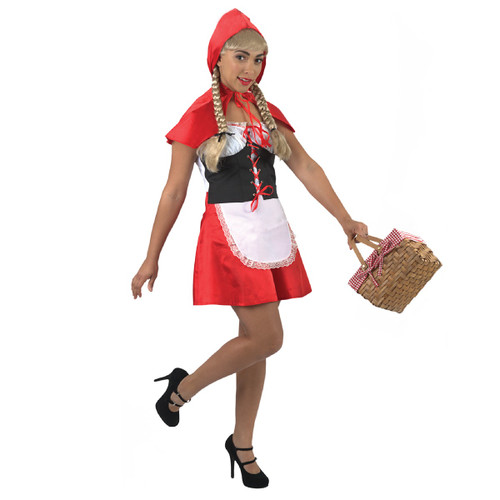 Little Red Riding Hood Halloween Costume- Large - IMAGE 1