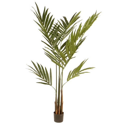 6' Potted Kentia Artificial Palm Tree - IMAGE 1