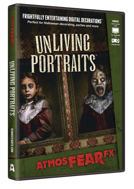 Projected Atmosfearfx Unliving Portraits Tutorial DVD - IMAGE 1