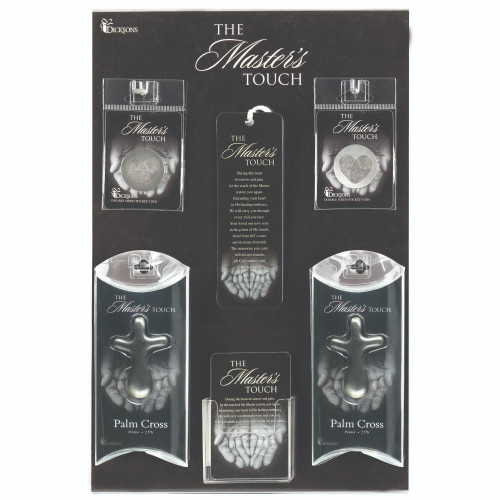 """16.5"""" Gray and White A Masters Touch Display and Assortment Board - IMAGE 1"""