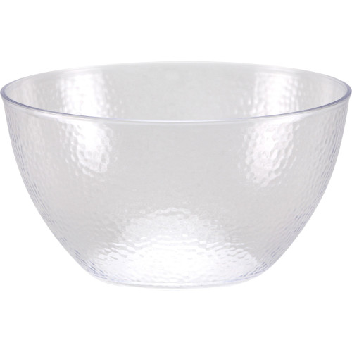 Club Pack of 12 Clear Solid Pebble Bowl 30 oz. - IMAGE 1