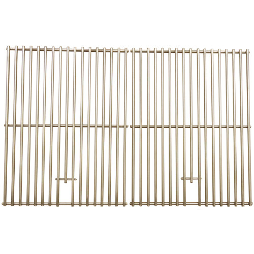 "Set of 2 Stainless Steel Clad Wire Cooking Grid for Nexgrill Gas Grills 26.25"" - IMAGE 1"