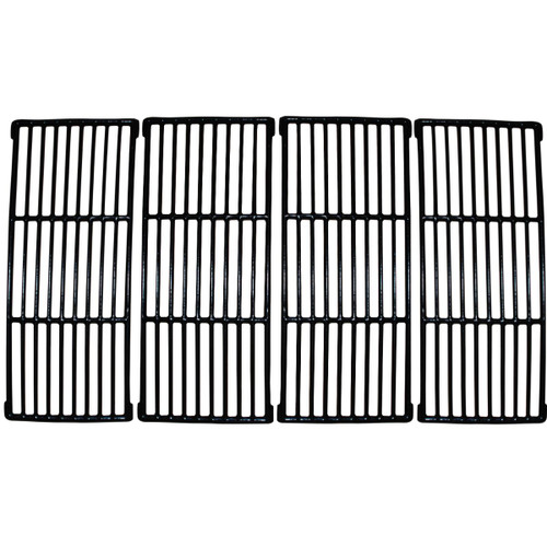 """4pc Matte Cast Iron Cooking Grid for Uniflame Gas Grills 31"""" - IMAGE 1"""
