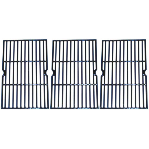 """3pc Gloss Cast Iron Cooking Grid for Uniflame Gas Grills 31.25"""" - IMAGE 1"""