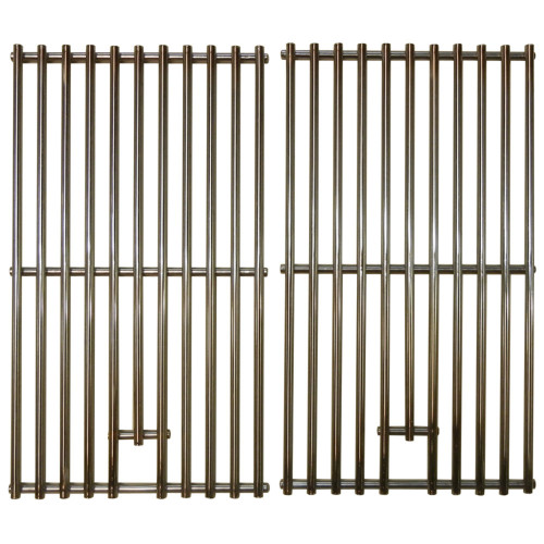 """2pc Stainless Steel Wire Cooking Grid for NXR Gas Grills 17.75"""" - IMAGE 1"""