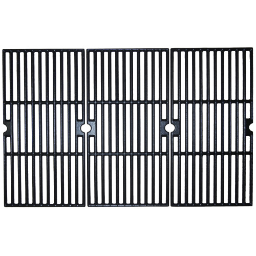 "Set of 3 Matte Finished Cast Iron Cooking Grid for Charbroil Gas Grills 26.25"" - IMAGE 1"