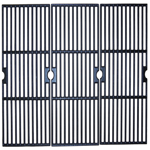 """Set of 3 Matte Finished Cast Iron Cooking Grid for Charbroil Gas Grills 28.75"""" - IMAGE 1"""