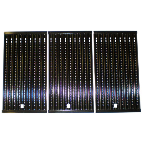 """3pc Stamped Steel Cooking Grid for Ducane and Master Forge Gas Grills 29.25"""" - IMAGE 1"""
