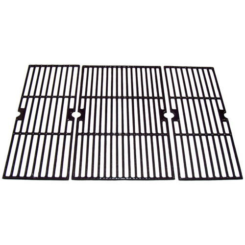 """3pc Gloss Cast Iron Cooking Grid for Brinkmann and Broil Chef Gas Grills 29"""" - IMAGE 1"""