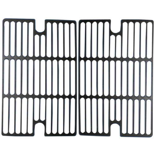"2pc Matte Cast Iron Cooking Grid for Gourmet and Smoke Hollow Gas Grills 21.25"" - IMAGE 1"
