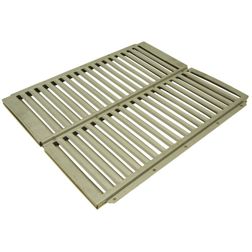 "20"" Stainless Steel Heat Plate for Ducane Gas Grills - IMAGE 1"