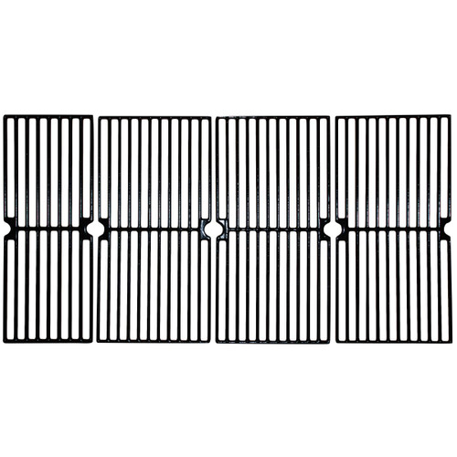 "4pc Gloss Cast Iron Cooking Grid for Master Forge and Brinkmann Gas Grills 33"" - IMAGE 1"
