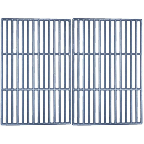 """2pc Matte Cast Iron Cooking Grid for Swiss Gas Grills 23.5"""" - IMAGE 1"""