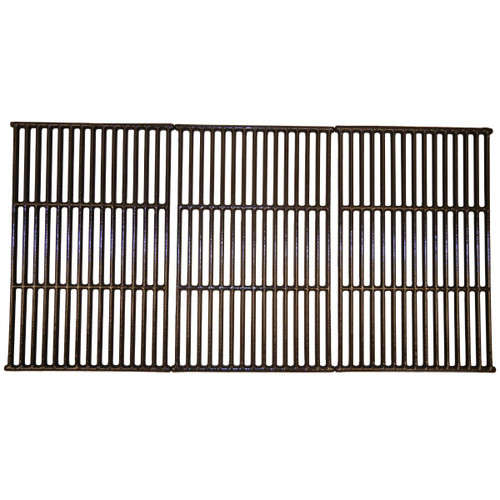 """3pc Gloss Cast Iron Cooking Grid for Coleman Gas Grills 34.75"""" - IMAGE 1"""