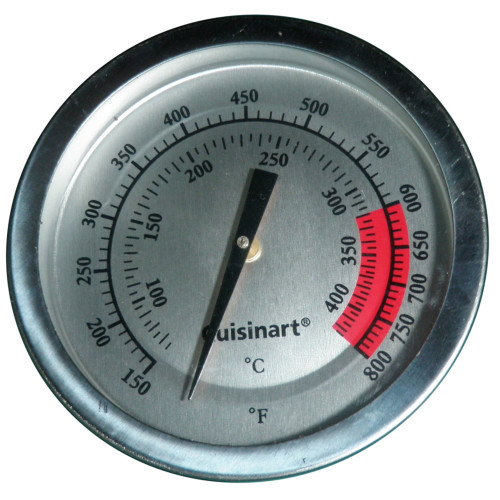 """3.25"""" Stainless Steel Heat Indicator for Charbroil and Kenmore Gas Grills - IMAGE 1"""