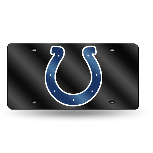 """6"""" x 12"""" Black and Blue NFL Indianapolis Colts Tag - IMAGE 1"""