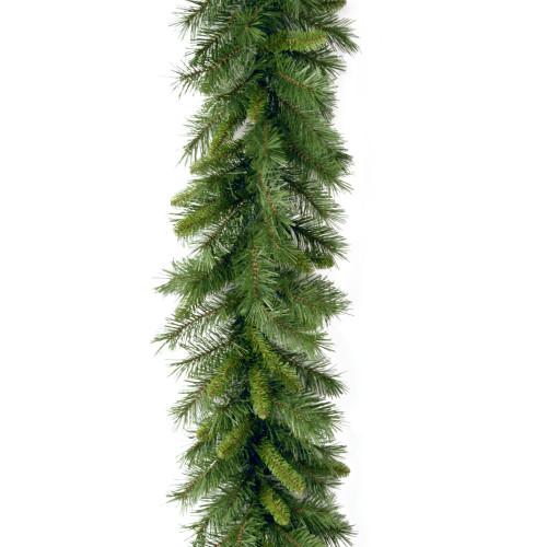 """9' x 10"""" Green Norwood Fir Artificial Christmas Garland - Unlit - IMAGE 1"""