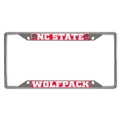 North Carolina State University Wolfpack License Plate Frame - IMAGE 1