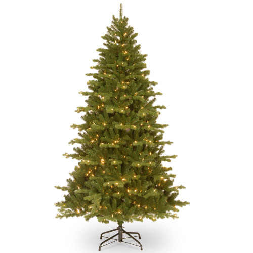 7.5' Pre-Lit Medium Northern Spruce Memory-Shape Artificial Christmas Tree with LED Lights - IMAGE 1