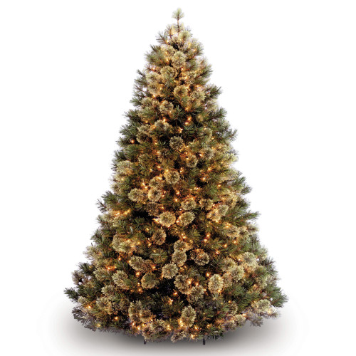 7.5' Pre-Lit Medium Wispy Willow Artificial Christmas Tree - Clear Lights - IMAGE 1