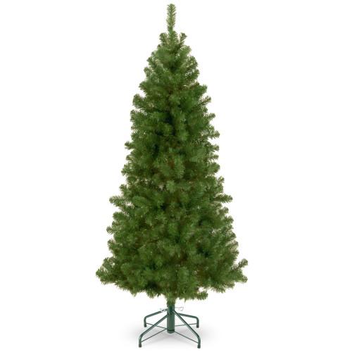 7.5' Slim Canadian Grande Fir Artificial Christmas Tree - Unlit - IMAGE 1