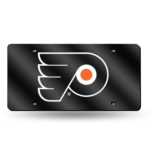 "6"" x 12"" Black and Orange NHL Philadelphia Flyers Tag - IMAGE 1"