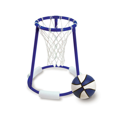 """23"""" Blue and White Pro Action Water or Swimming Pool Basketball - IMAGE 1"""