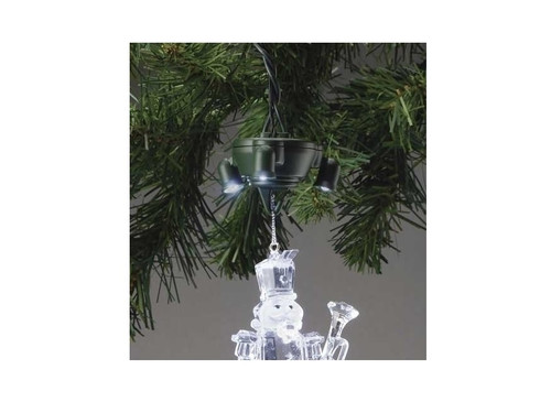 LED Lighted Ornament Pigtail Holder - Light-Up Your Christmas Ornament - IMAGE 1