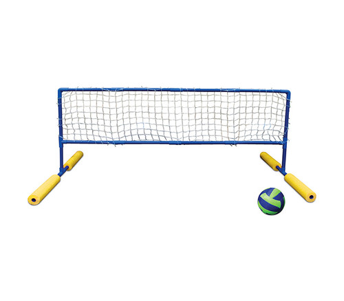 """70"""" Blue and Yellow Super Water or Swimming Pool Volleyball Net and Ball - IMAGE 1"""
