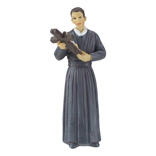"3.5"" Saint Gerard Patron of Expectant Mothers Religious Figure - IMAGE 1"