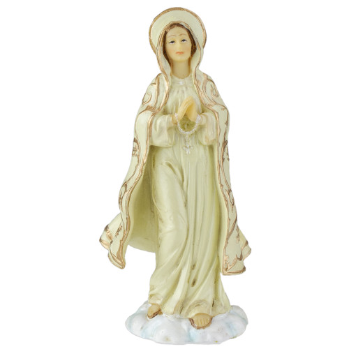 "4.25"" Patrons and Protectors Collection Our Lady of Fatima Religious Figure - IMAGE 1"