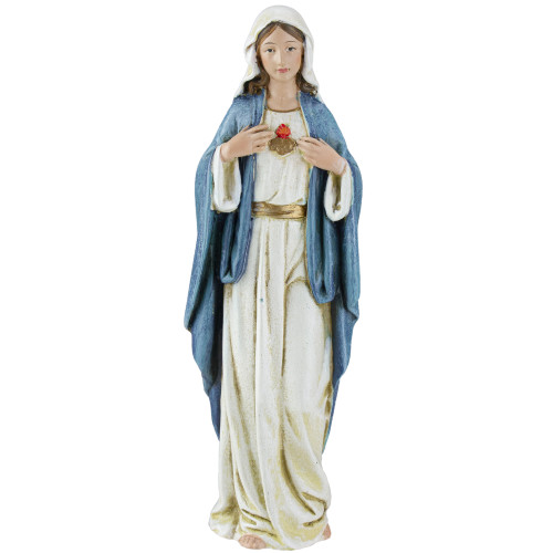 "6"" Joseph's Studio Immaculate Heart of Mary Religious Figure - IMAGE 1"
