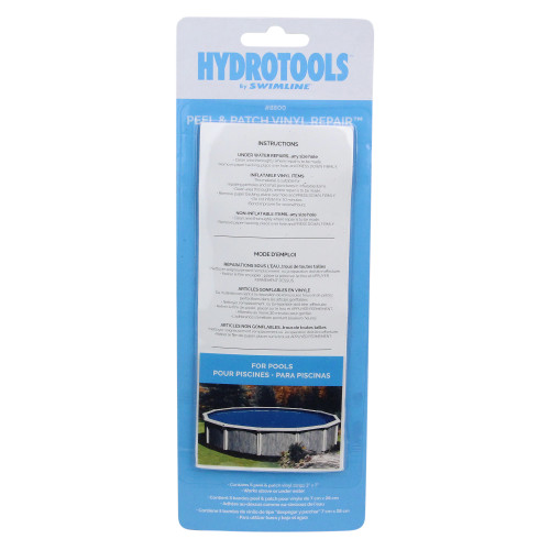 """7"""" Clear Peel and Patch Tear-Aid Vinyl Repair Kit for Swimming Pools - IMAGE 1"""