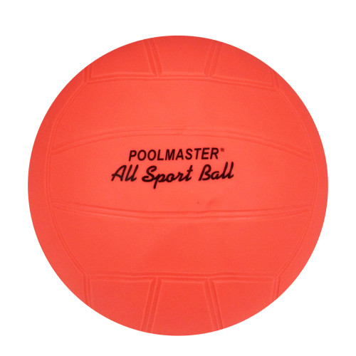 """8.5"""" Orange """"All Sport Ball"""" Inflatable Swimming Pool Accessory - IMAGE 1"""