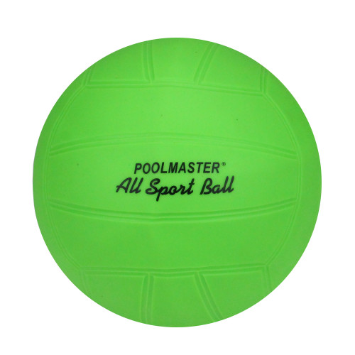 """8.5"""" Green and Black Swimming Pool Inflatable All Sport Ball - IMAGE 1"""