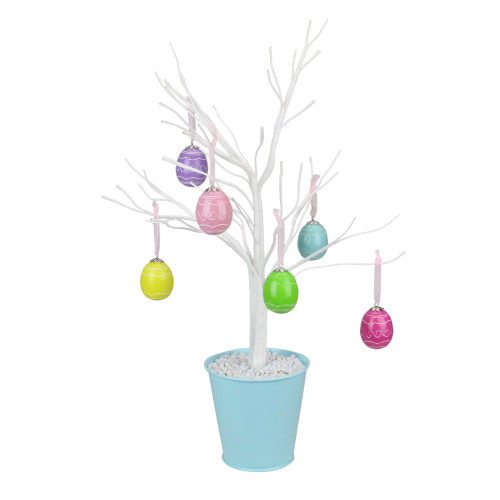 """18"""" Pastel Colored Spring Easter Egg Table Top Tree - IMAGE 1"""