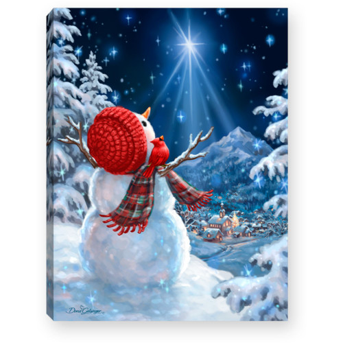 """8"""" White and Red Christmas Snowman Lighted Tabletop Decor - IMAGE 1"""