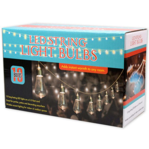 Pack of 2 Clear Contemporary Style String LED Lights Sets - IMAGE 1