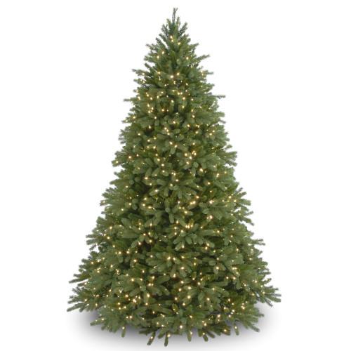 6.5' Pre-Lit Jersey Fraser Fir Artificial Christmas Tree - Clear Lights - IMAGE 1